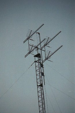 Erecting An Antenna Tower